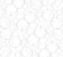 Hexagon line abstract and space art background