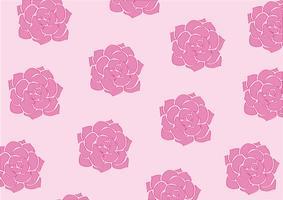 lovely flower pastel background vector