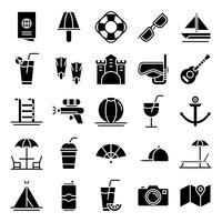 Summer icons pack