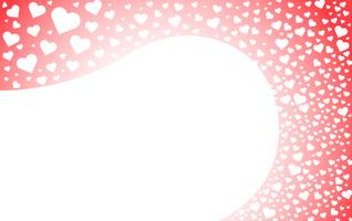 the heart of love background