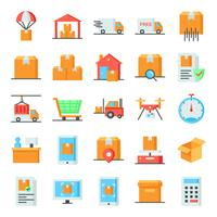 Logistic icons pack