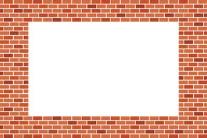 Abstract Background of Brown brick wall - Vector design