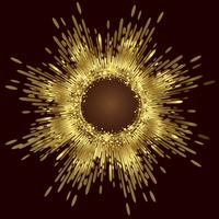Golden Abstract background vector, Abstract Background
