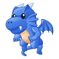 Dragon is animal in fairy tales.