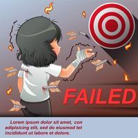 misslyckades.