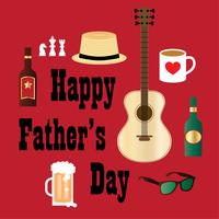 fathers day hipster dad graphic