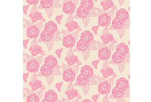 Textura de impressão floral