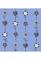 Floral print seamless texture