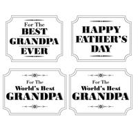 grandpa fathers day white black
