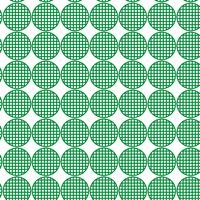 Green Rounded Pattern Design 39