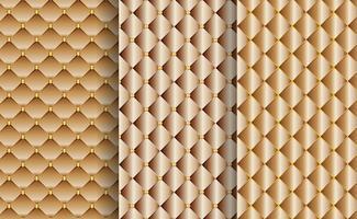 Insieme di fondo di lusso astratto con il concetto costoso del filo dell'oro decorativo.