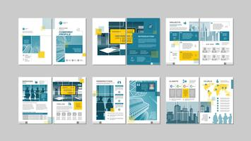 Brochure creative design.