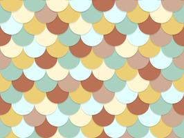 Seamless pattern of overlapping circle pastel color background