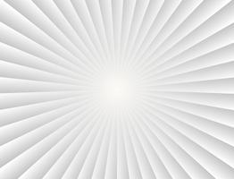 Abstrakte Sonnenstrahlsteigungsstrahlen im weißen Hintergrund - Vector Illustration