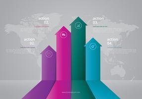 Elementi 3D Infographic