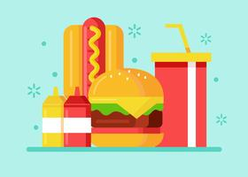 Summer Foods Vector