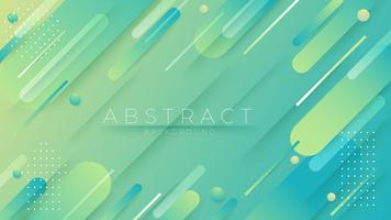Minimal geometric Trendy gradient shapes composition.