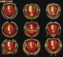 Emblemas do troféu