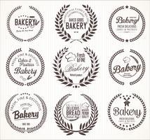 étiquettes de boulangerie