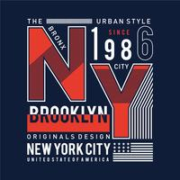 Tee,element,vintage,images, new york,brooklyn typography