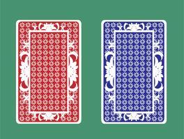 Rückseite der Spielkarte