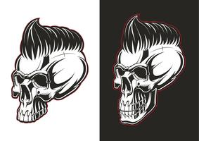 Barber skull half profile