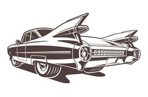Vektor amerikansk bil