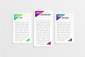 Kleurrijk modern wit kaartmalplaatje met kleurrijk ontwerp