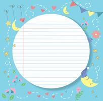 cute and lovly paper line vector background, detailed lined paper texture