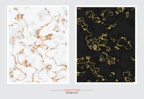Fond de couverture en marbre doré.