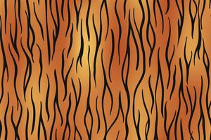 Tiger skin seamless background on vector graphic art.