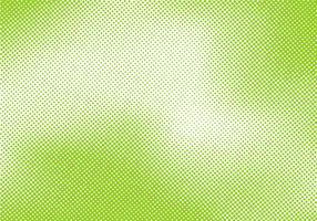 Abstract bright green pop art retro background with halftone comic style texture.
