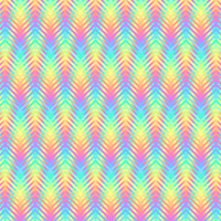 Psychedelic Wavy Stripes Pixel Art Pattern