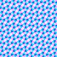 Pastel Geometric Optical Background