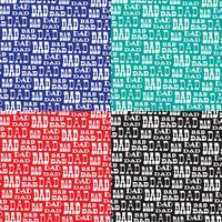 pappers typografi vektor bakgrundsmönster
