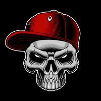 Schädel mit Mütze