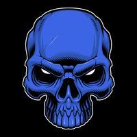 Vector cráneo