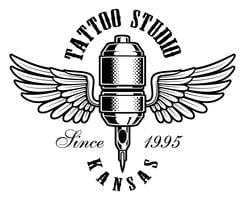 tattoo machine logo