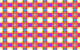 Vector illustration of abstract colorful geometric seamless pattern background