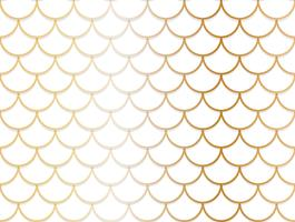 Seamless pattern of overlapping golden and white circle background