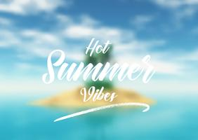 Summer quotation background