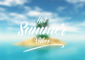 Contexte de citation d'été