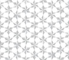 Seamless pattern white stars polygon background - Vector illustration