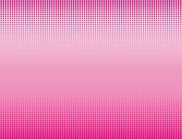 Vector illustration of pink halftone banners background