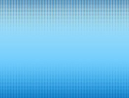 Vector illustration of blue halftone banners background