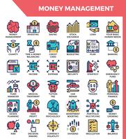 Money management icons
