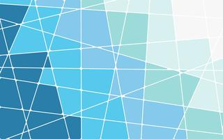 Abstract blue geometric mosaic background