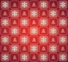 Illustration vectorielle de Noël fond modèle