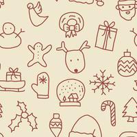 Modello di Natale senza soluzione di continuità