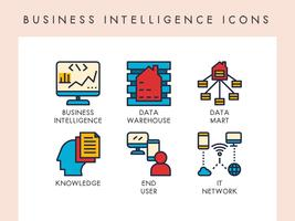 Business Intelligence ikoner